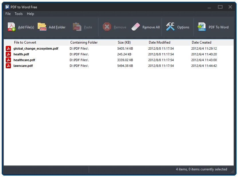 Pdf To Word Free 100 Free Pdf To Word Converter Software To